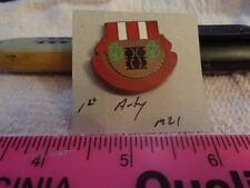 1st Artillery M21 Unit Crest, DI, DUI (DRAW#Z11)