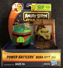 Angry Birds Star Wars Power Battlers Boba Fett Pig New (RARE) LAST ONE!