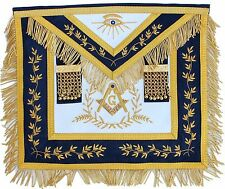 MASONIC COLLAR Blue Lodge APRON HAND EMBROIDERED PMA-400