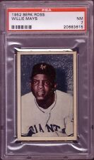 1952 BERK ROSS WILLIE MAYS PSA 7 NEAR MINT