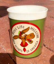 Boys' Life Magazine Boy Scouts Of America Vintage Pedro Burro Thermo Serv Cup
