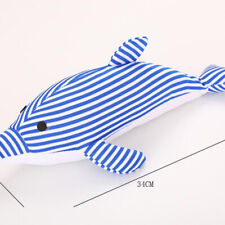 Pet Dog Toys Dolphin Shape Squeaky Puppy Funny Cleaning Teeth Interactive Toy MH