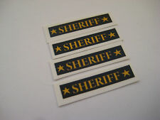Corgi Juniors NO 61 Mercury Cougar Sheriff Car Stickers - B2G1F