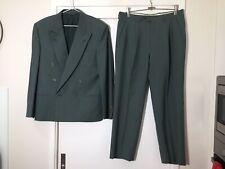 "Ermenegildo Zegna Mens Green Wool Full Suit | Jacket Size 40"" | Pants 34"""