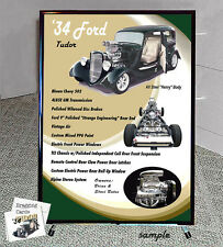 Your Car SHOW DISPLAY / Reader Board with Tripod