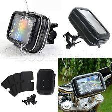 Bike Handlebar Mount w/waterproof Case Cover for 5 inch GPS Case Garmin Nuvi 200
