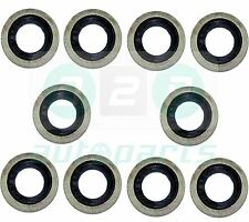 10 x Sump Plug Washers Gasket For Peugeot 106 205 306 405 016454, 016488