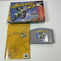 Excitebike 64 (Nintendo 64, 2000) Box And Manual Tested Works #0950