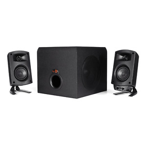 Klipsch ProMedia 2.1 THX® Certified Computer Speakers OPEN BOX Slightly Used