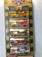 50TH ANNIVERSARY SET 1 OF 8 NASCAR GIFT PACK 1/64 DIECAST RACING CHAMPIONS