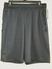 Champion C9 Duo Dry Men's Black Ventilated Stretch Athletic Training Shorts New