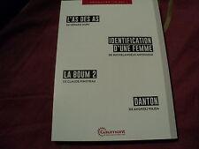 """COF 4 DVD NF """"L'AS DES AS / IDENTIFICATION D'UNE FEMME / LA BOUM 2 / DANTON"""""""