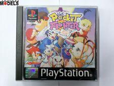 POCKET FIGHTER Sony Playstation Psx Ps1 Pal Capcom Usato Ottime Condizioni