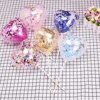 d'anniversaire gâteau insérer le latex ballon de confettis ruban de paille