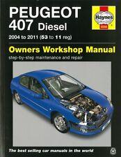 Haynes Handbuch: Peugeot 407 Diesel 2004-2011 Reparaturanleitung/Reparatur-Buch