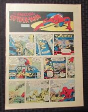 1977 Spider-Man Sunday Comic Strip 9/18/77 John Romita Fn J Jonah Jameson