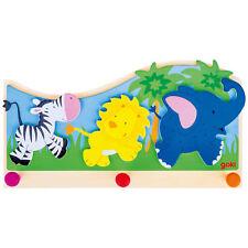 goki Garderobe Tiere in Afrika 60847 - goki Holzgarderobe für Kinder