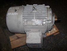 NEW SIEMENS 25 HP AC ELECTRIC MOTOR TYPE SD100 284TS FRAME 460 VOLT 3525 RPM