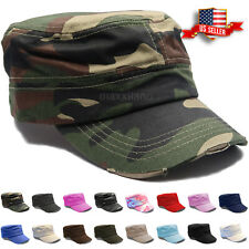 167b2026c148a Castro Cadet Cap Military Army Cotton Hat Patrol Baseball Womens Mens  Distressed