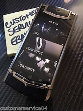 Genuine Vertu Android Ti Black Alligator Luxury Phone Super RARE Brand NEW