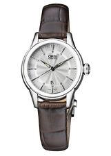 Oris artelier дата автоматический женские часы 01 561 7687 4051, -07, 5, 14, 70FC