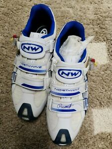 Tom Boonen Autographed Northwave Shoes