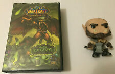 world of warcraft trading card game starter deck & Orgrim Funko pop both preowne