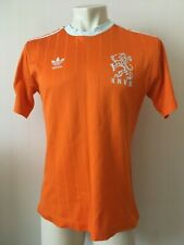 Netherlands HOLLAND HOME FOOTBALL SHIRT 1980's ADIDAS LARGE VINTAGE ORIGANAL