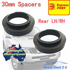 Rear 30mm Coil Spring Spacers kit Lift Patrol GQ Y60 GR GU Y61 Maverick Safari