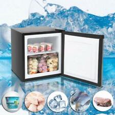 Single Door Mini Fridge Cabinet Freezer Stainless Steel Design 1.1CU.FT Frozen