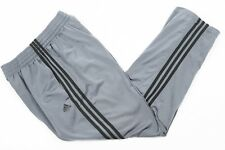 90s Vintage Adidas Grey Tracksuit Bottoms | Womens M | Trackies Joggers Retro