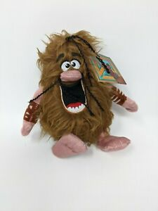 """Scoob! CAPTAIN CAVE MAN Plush 8"""" Stuffed Toy - New with Tags 40064 Caveman"""