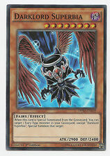 Darklord Superbia DESO-EN039 Super Rare Yu-Gi-Oh Card 1st Edition English Mint