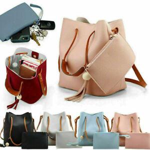 2Pcs/Set Women Lady Cross Body Messenger Bag Shoulder Over Bags Holiday Handbag