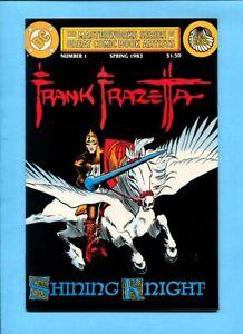 Masterworks Series Of Great Comic Book Artists #1 Frank Frazetta DC Comics 1983