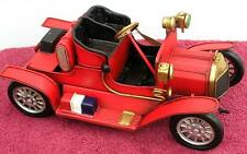 RETRO RED METAL TIN VINTAGE  MODEL CAR Cars