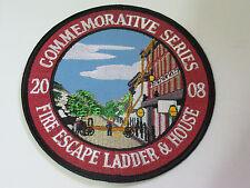 Fire Escape Ladder Fire Department Patch (2466)