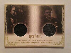 HARRY POTTER MEMORABLE MOMENTS MM COSTUME CARD JOSH HERDMAN GERGORY GOYLE DC4