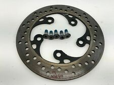 OEM STRAIGHT! 08-09 SUZUKI GSXR600 REAR WHEEL RIM BRAKE ROTOR DISC