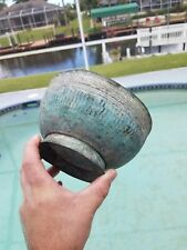 Nice Ancient Antique Bronze Bowl of some sort Possibly Roman