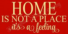 """Reusable Stencil 8462 N 12""""x24"""" Home Is Not A Place- Mylar Sign Stencil"""