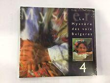 CD LE MYSTERE DES VOIX BULGARES 4 NUOVO E SIGILLATO RARO...