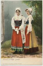 Women in Native Costume, Province of Oland, Sweden ca.1905