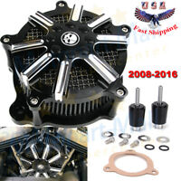 Air Cleaner Filter Kit For Harley Road King Street Electra Glide FLHX 2008-2016