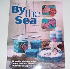 NEEDLECRAFT PLASTIC CANVAS PATTERN LEAFLET BOOK 2005 BY THE SEA 845523