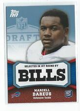 2011 Topps Rising Rookies Blue #123 Marcell Dareus Rookie Bills /1339