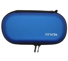 Blue PS Vita PSP hard case Housse De Protection Sac Pochette Voyage Portefeuille 2705_L