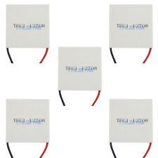 5x NEW TEC1-12708 Heatsink Thermoelectric Cooler Cooling Peltier Plate ModuleUSA