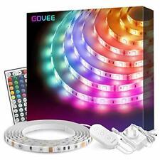 LED Strip Lights 5 Metre, Govee RGB Lighting Strip Kits Waterproof with 44 Key