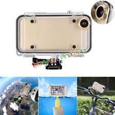 IP68 Étanche Plongée sous-marine Coque de protection pour iPhone 6 6S 4.7'' doré